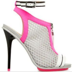 GX by Gwen Stefani Shoes - GX by Gwen Stefani Mesh Ankle Strap Bootie 7.5